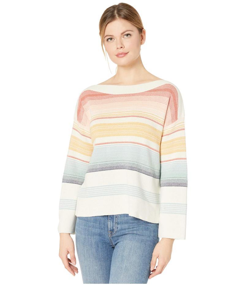 ペンドルトン レディース ニット・セーター アウター Horizon Cotton Stripe Sweater Chili Multi
