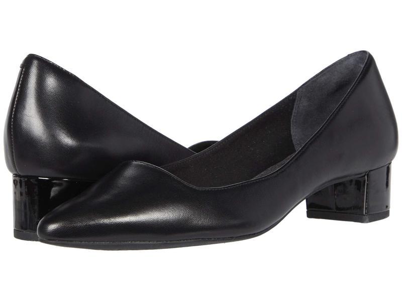 ロックポート レディース ヒール シューズ Total Motion Gracie Pump Black Leather