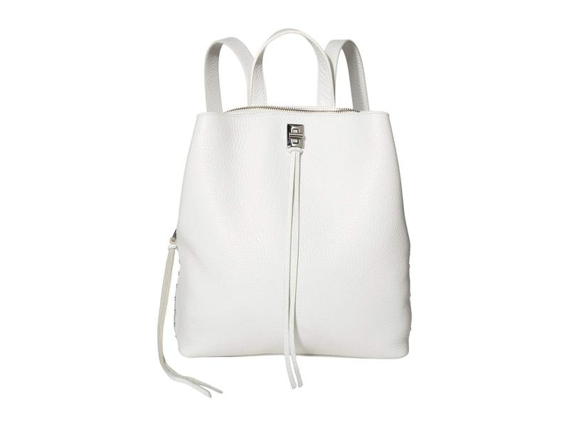 レベッカミンコフ レディース バックパック・リュックサック バッグ Darren Medium Backpack Optic White