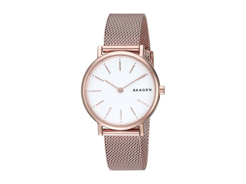 スカーゲン レディース 腕時計 アクセサリー Signatur Slim Two-Hand Watch SKW2694 Rose Go