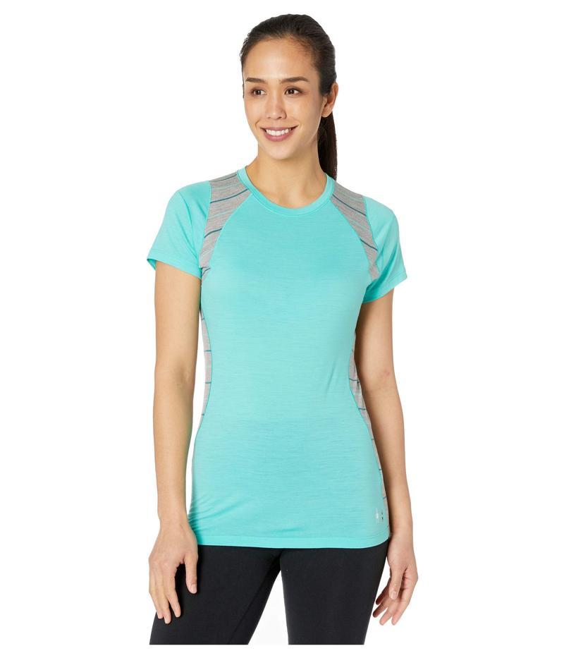 スマートウール レディース シャツ トップス Merino 150 Base Layer Color Block Short Sleeve Oasis