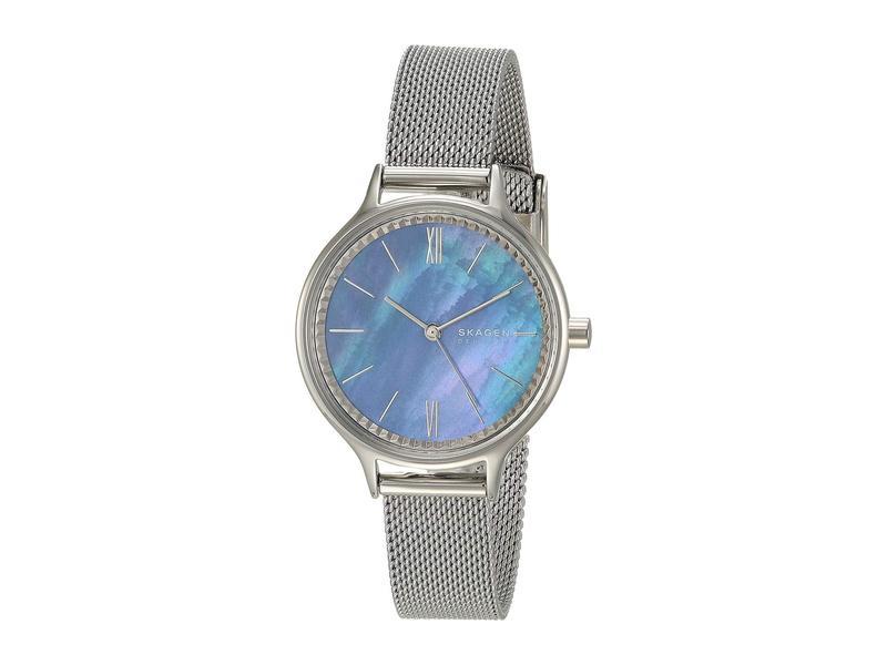 スカーゲン レディース 腕時計 アクセサリー Anita Three-Hand Watch SKW2862 Silver