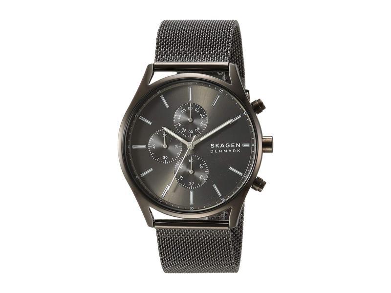 スカーゲン メンズ 腕時計 アクセサリー Holst Multi-Function Watch SKW6608 Gunmeta
