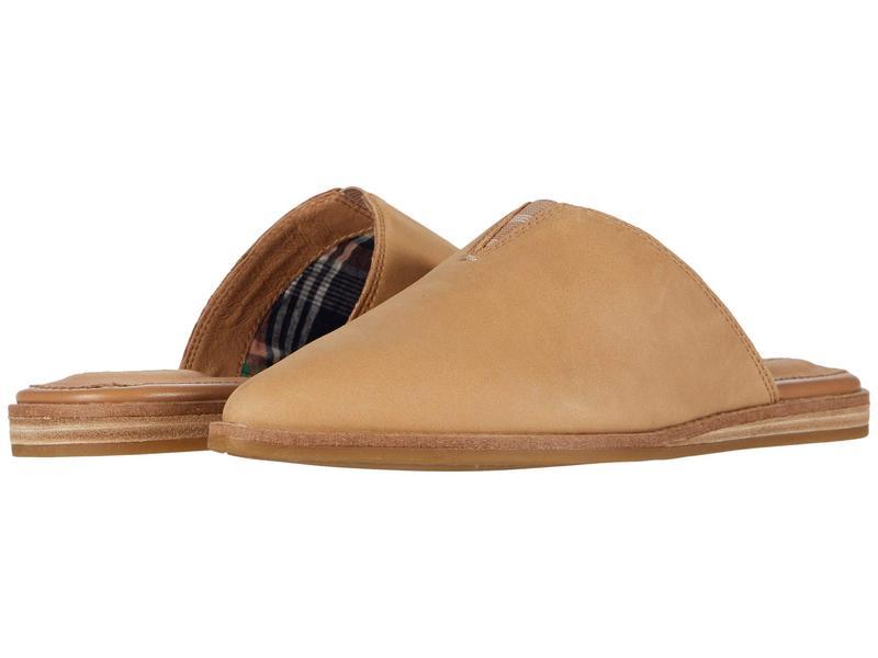 スペリー レディース スリッポン・ローファー シューズ Saybrook Mule Leather Tan