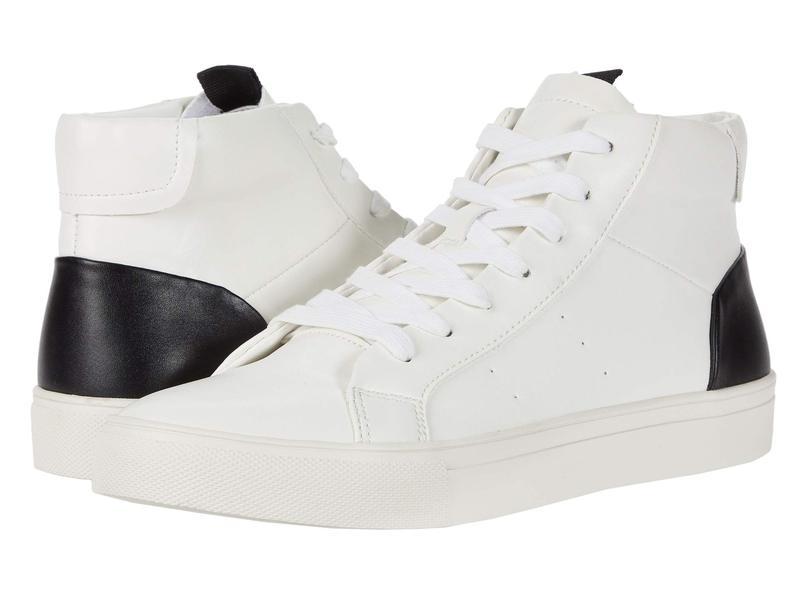 スティーブ マデン メンズ スニーカー シューズ Coastline Sneaker White/Black