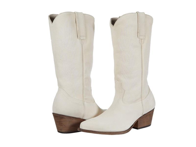 スティーブ マデン レディース ブーツ・レインブーツ シューズ Cowboy Western Boot Bone Leather