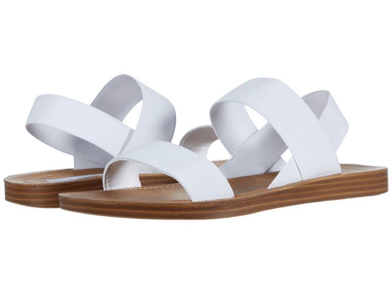 スティーブ マデン レディース サンダル シューズ Roma Flat Sandal White