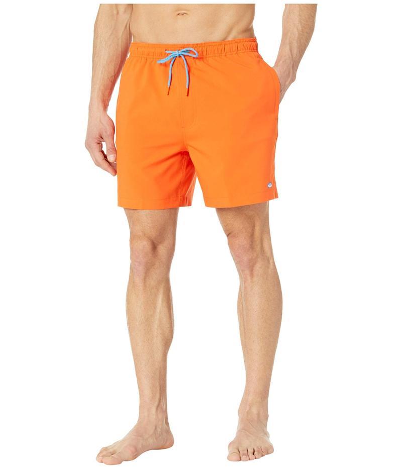 サウザーンタイド メンズ ハーフパンツ・ショーツ 水着 Solid Swim Trunks Tangerine