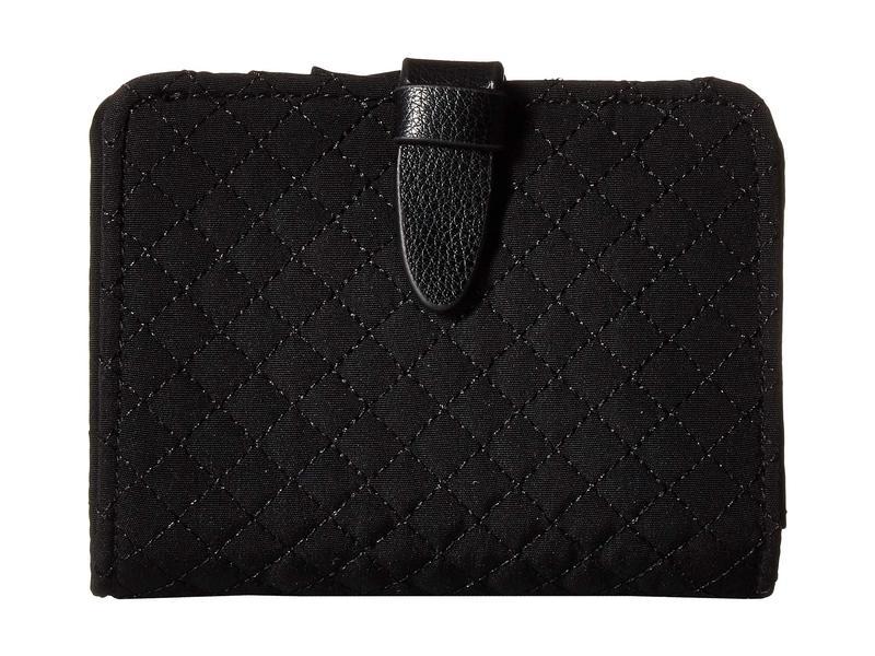 ベラブラッドリー レディース 財布 アクセサリー Iconic RFID Small Wallet Classic Black
