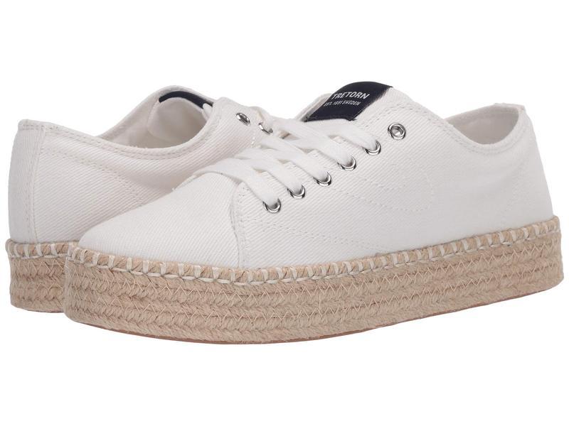 トレトン レディース スニーカー シューズ Eve Vintage White 1