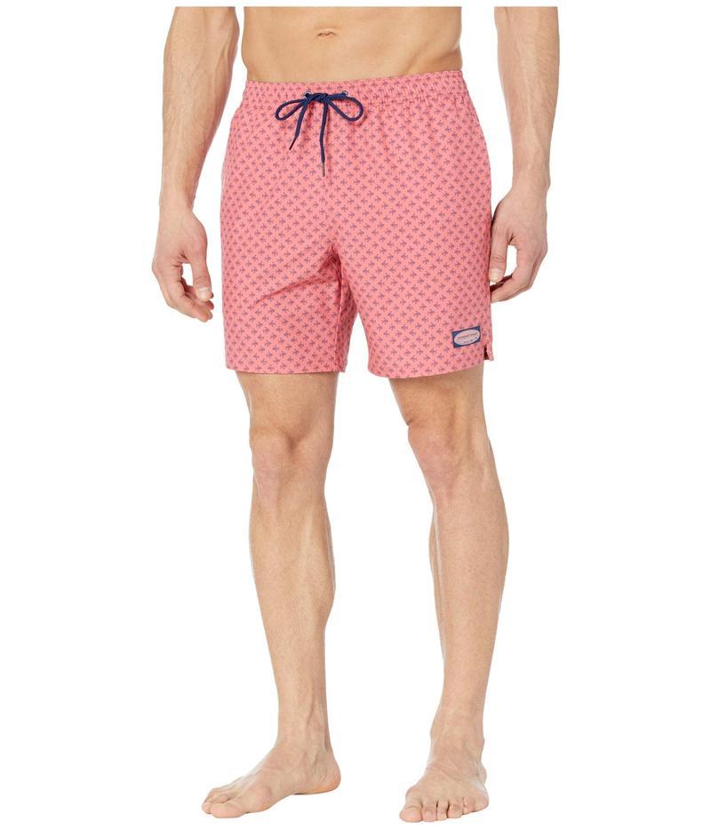 ヴァインヤードヴァインズ メンズ ハーフパンツ・ショーツ 水着 Printed Chappy Trunks Lobster Reef