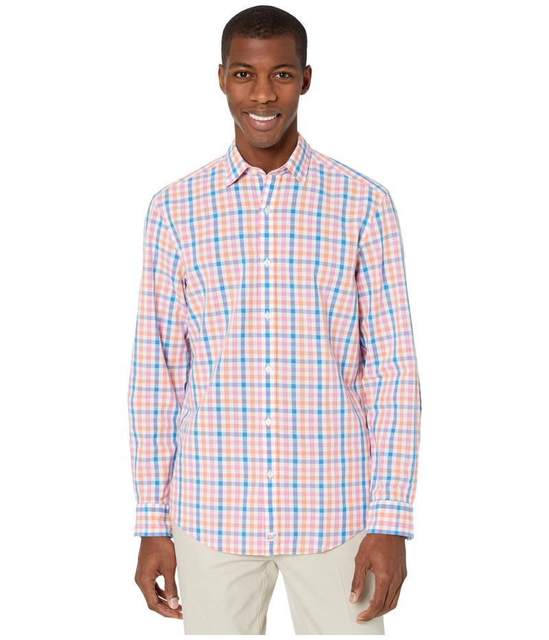 ヴァインヤードヴァインズ メンズ シャツ トップス Classic Fit Orange Grove Cooper Button-Down Shirt Sunrise
