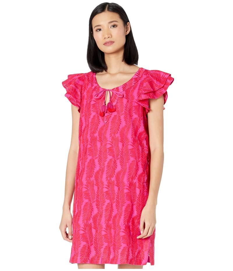 ヴァインヤードヴァインズ レディース ワンピース トップス Embroidered Palm Vineyard Tunic Dress Raspberry/Rose