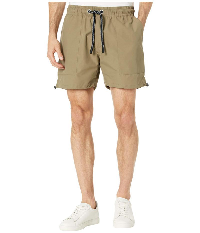 ゼインローブ メンズ ハーフパンツ・ショーツ ボトムス Jumpa Lite Shorts Moss