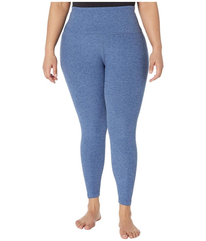 ビヨンドヨガ レディース カジュアルパンツ ボトムス Plus Size High Waisted Midi Leggings Serene Blue/Haz