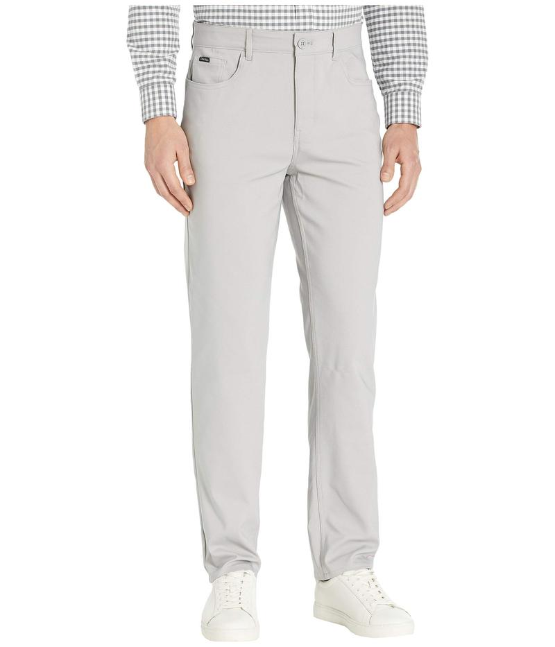 カルバンクライン メンズ カジュアルパンツ ボトムス Tech Woven Five-Pocket Casual Pants Alloy