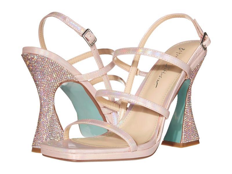 ブルーバイベトシージョンソン レディース ヒール シューズ Pacey Heeled Sandal Petal Pink