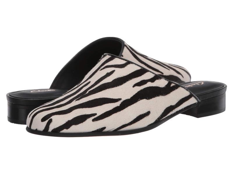 クラークス レディース スリッポン・ローファー シューズ Pure Blush Zebra Animal Pr