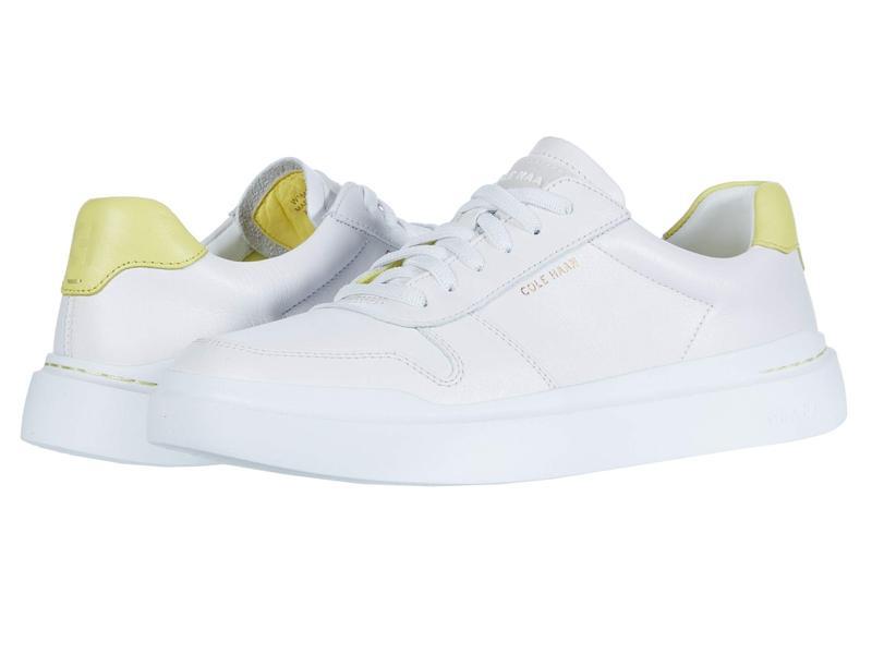 コールハーン レディース スニーカー シューズ Grandpro Rally Court Sneaker Optic White/Lim