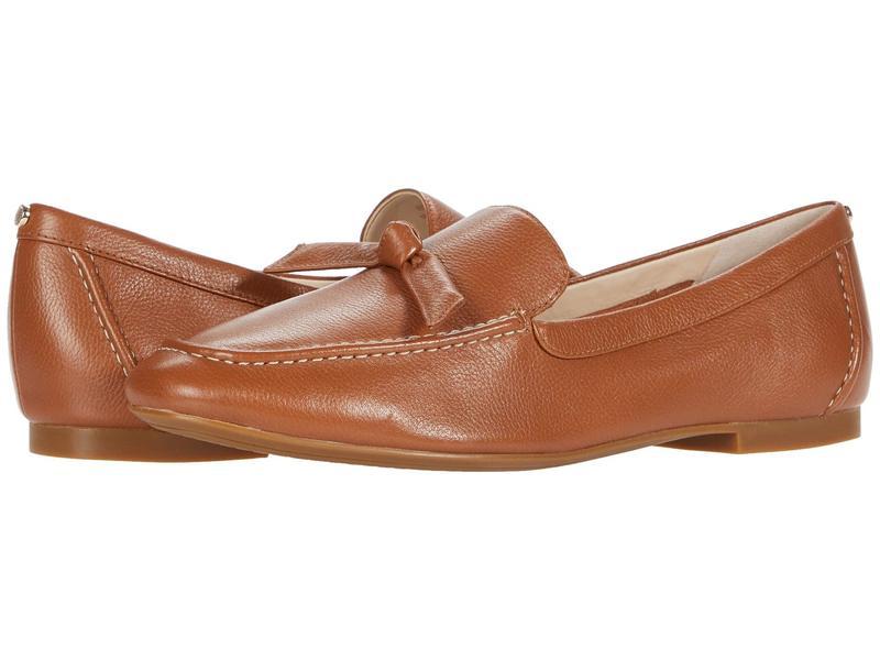 コールハーン レディース スリッポン・ローファー シューズ Caddie Bow Loafer British Tan Sof