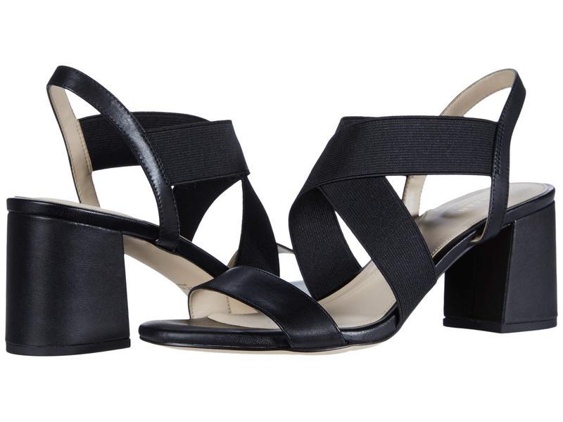 コールハーン レディース ヒール シューズ Aniston Elastic Sandal (65 mm) Black Leather/G