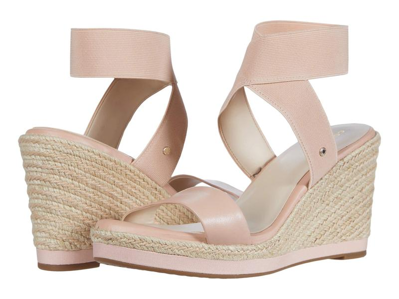 コールハーン レディース ヒール シューズ Cloudfeel Espadrille Elastic Wedge 90 mm Mahogany Rose L