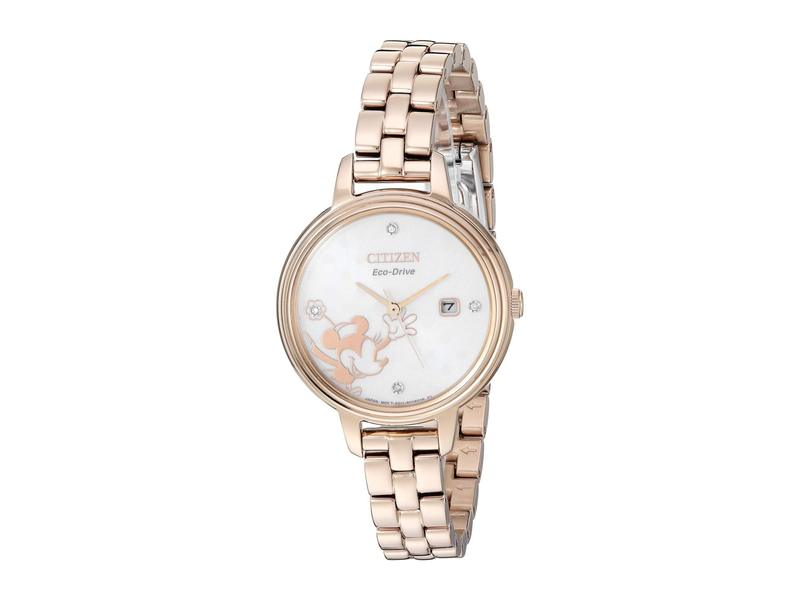 シチズンウォッチ レディース 腕時計 アクセサリー Minnie Mouse EW2448-51W Rose Gold/Tone