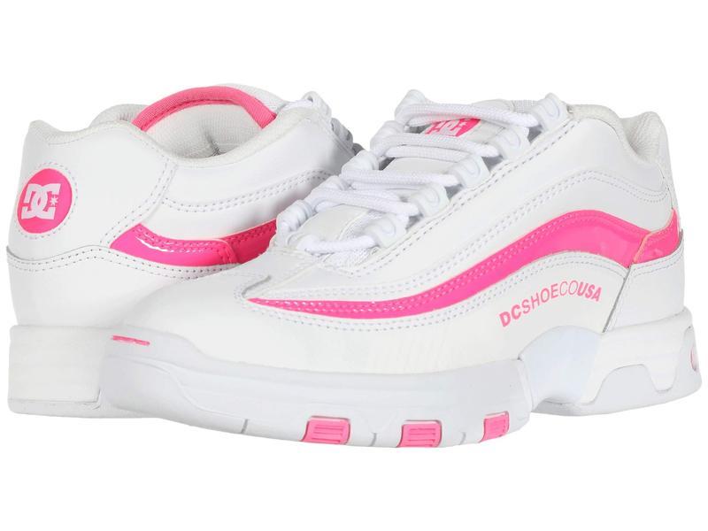 ディーシー レディース スニーカー シューズ Legacy Lite White/Hot Pink