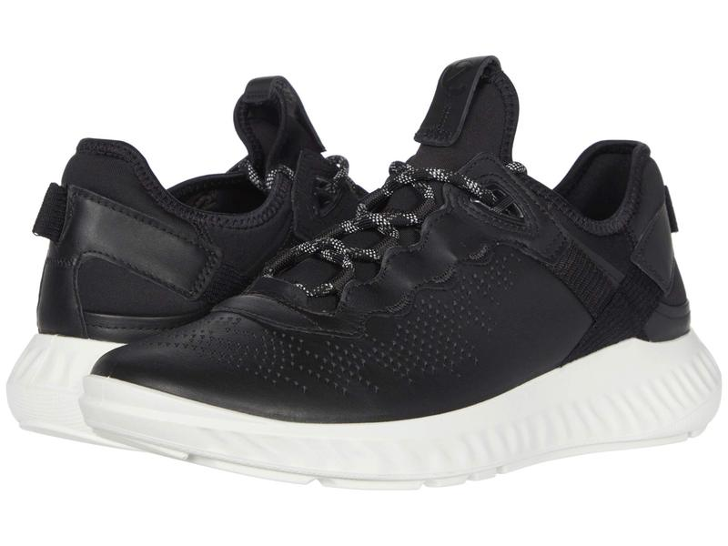 エコー メンズ スニーカー シューズ ST.1 Lite Sneaker Black