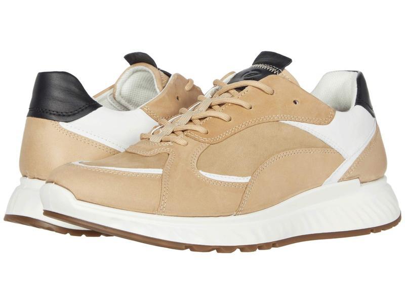 エコー メンズ スニーカー シューズ ST1 Trend Sneaker Powder/Beige/Wh