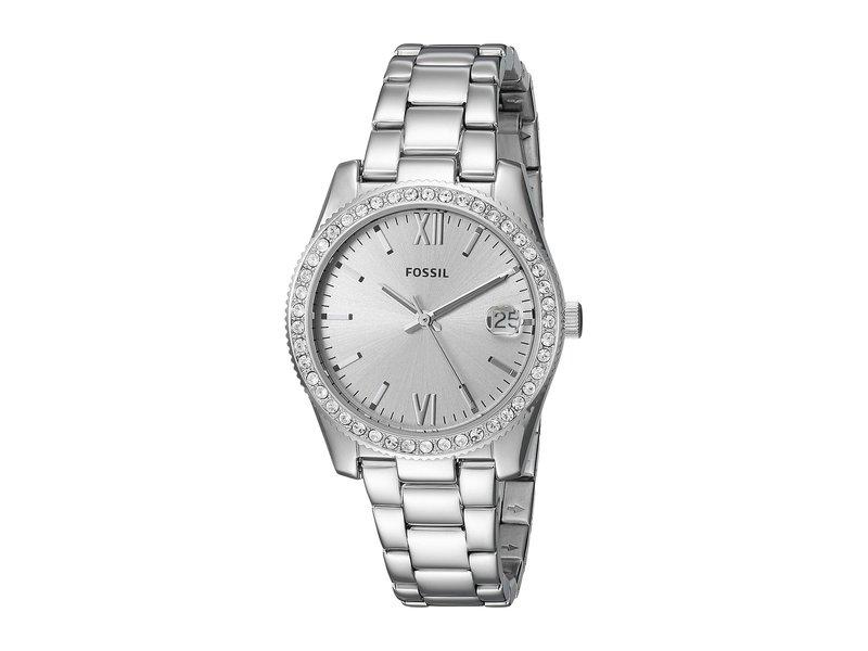 フォッシル レディース 腕時計 アクセサリー Scarlette Mini Three-Hand Watch ES4317 Silver S