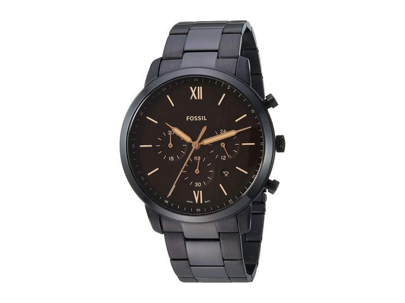 フォッシル メンズ 腕時計 アクセサリー Neutra Chronograph Watch FS5525 Black St
