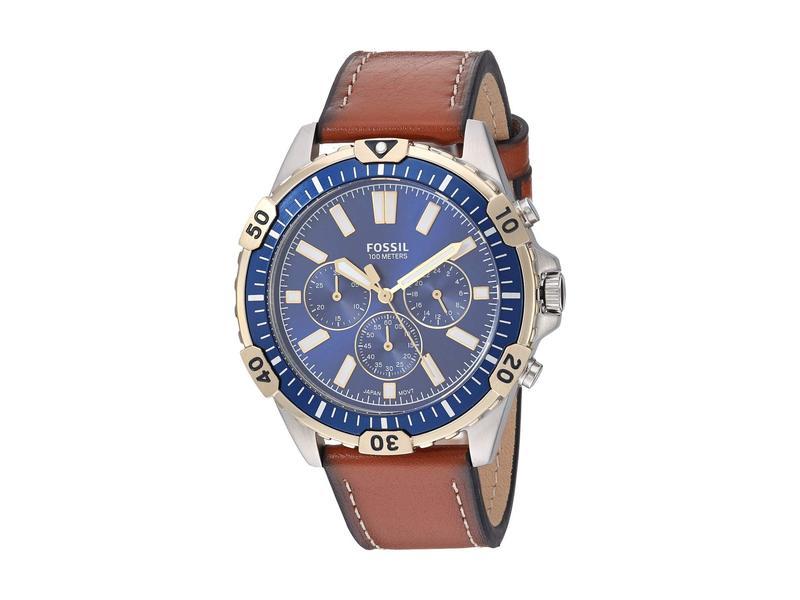 フォッシル メンズ 腕時計 アクセサリー Garrett Chronograph Watch FS5625 Silver L