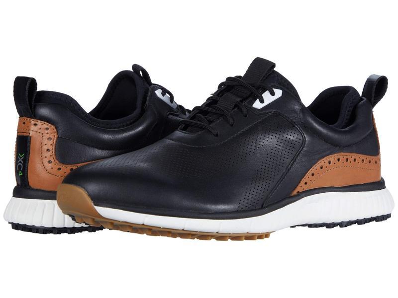 ジョンストンアンドマーフィー メンズ スニーカー シューズ Waterproof XC4 Golf H1-Luxe Hybrid Sneaker Black Waterproo