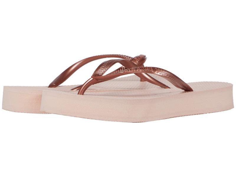 ハワイアナス レディース サンダル シューズ Slim Flatform Sandal Ballet Rose