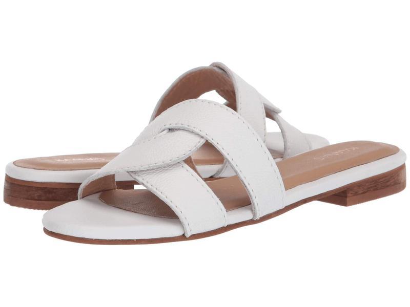 カーナス レディース ヒール シューズ Santorini Infinity Sandal White
