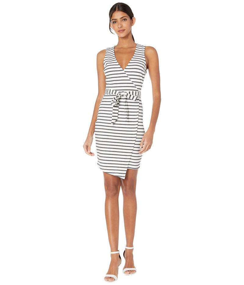 ジャック バイ ビービーダコタ レディース ワンピース トップス Ponte Stripe Wrap Dress White