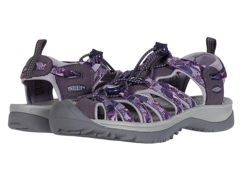キーン レディース サンダル シューズ Whisper Purple Tropical
