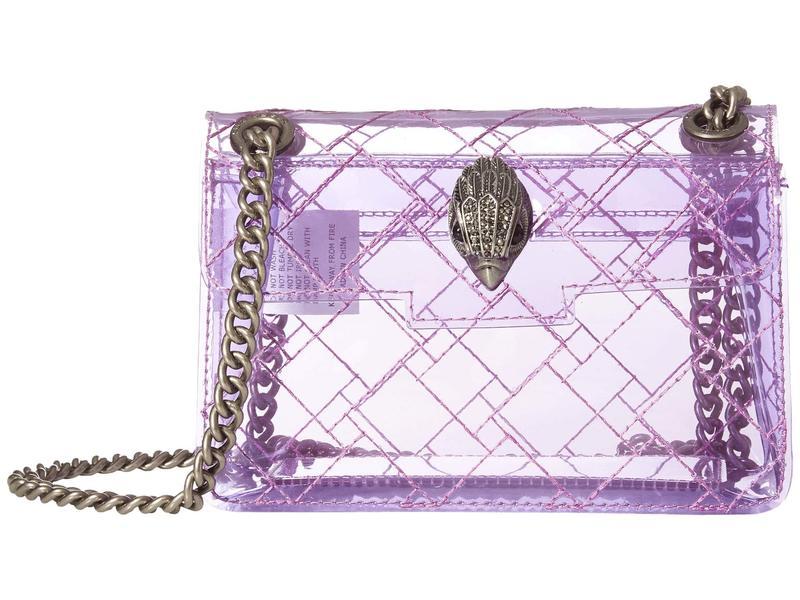 カートジェイガーロンドン レディース ハンドバッグ バッグ Transparent Mini Kensington Lilac