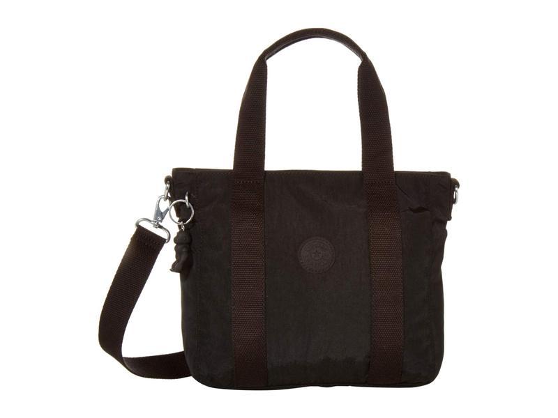 キプリング レディース ハンドバッグ バッグ Asseni Mini Tote Bag Black Noir