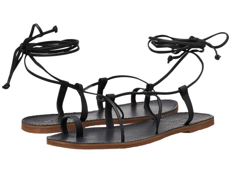メイドウェル レディース サンダル シューズ Boardwalk Lace-Up Sandal True Black