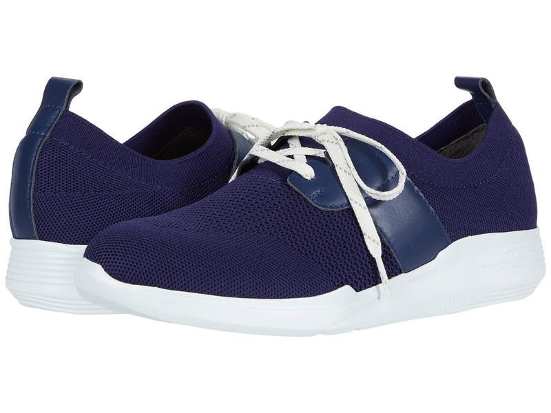 ムンロー レディース スニーカー シューズ Sandi Blue Sock/White