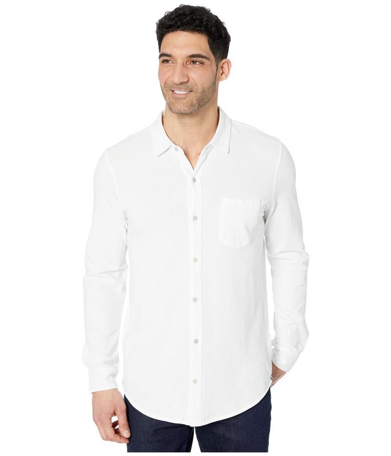 モッドドック メンズ シャツ トップス Windandsea Long Sleeve Button Front Shirt White