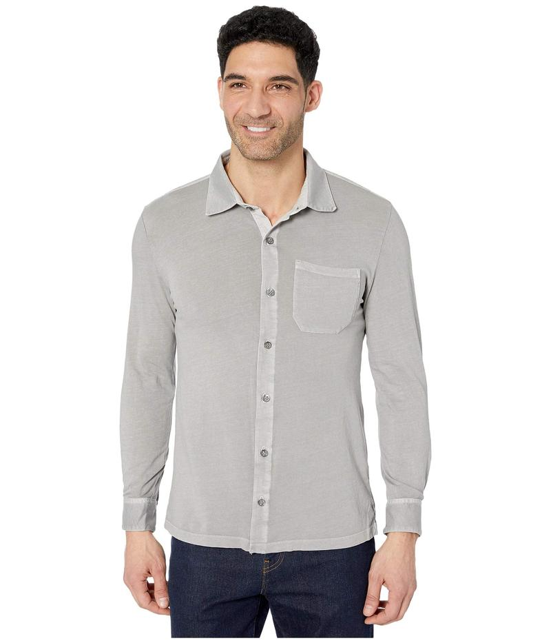 モッドドック メンズ シャツ トップス Santa Monica Long Sleeve Button Front Shirt Drizzle