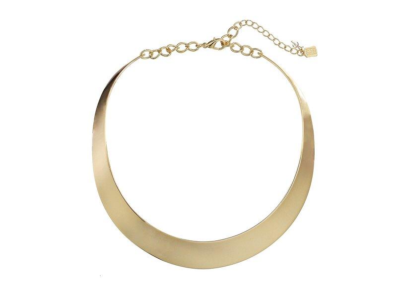 ロバートリーモリス レディース ネックレス・チョーカー・ペンダントトップ アクセサリー Half Moon Collar Necklace Gold