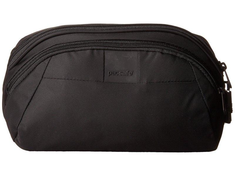 パックセーフ メンズ ボディバッグ・ウエストポーチ バッグ Metrosafe LS120 Anti-Theft Hip Pack Black