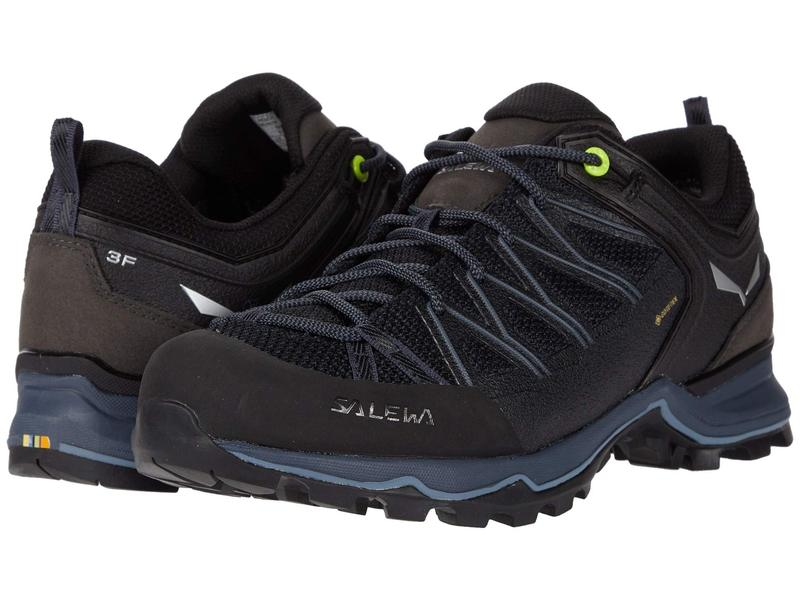 送料無料 宅配便送料無料 サイズ交換無料 サレワ メンズ シューズ スニーカー Mountain Lite 高品質 GTX Black Trainer