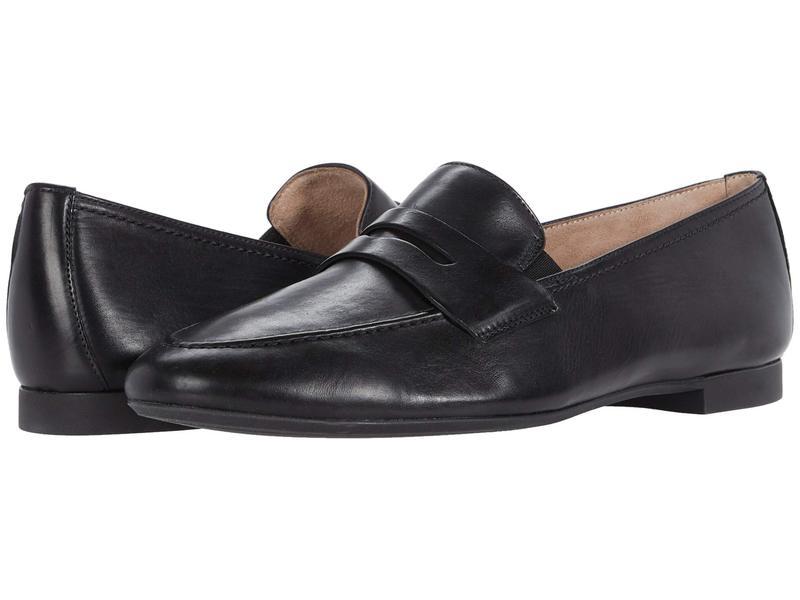 ポール・グリーン レディース スリッポン・ローファー シューズ Bonnie Flat Black Leather