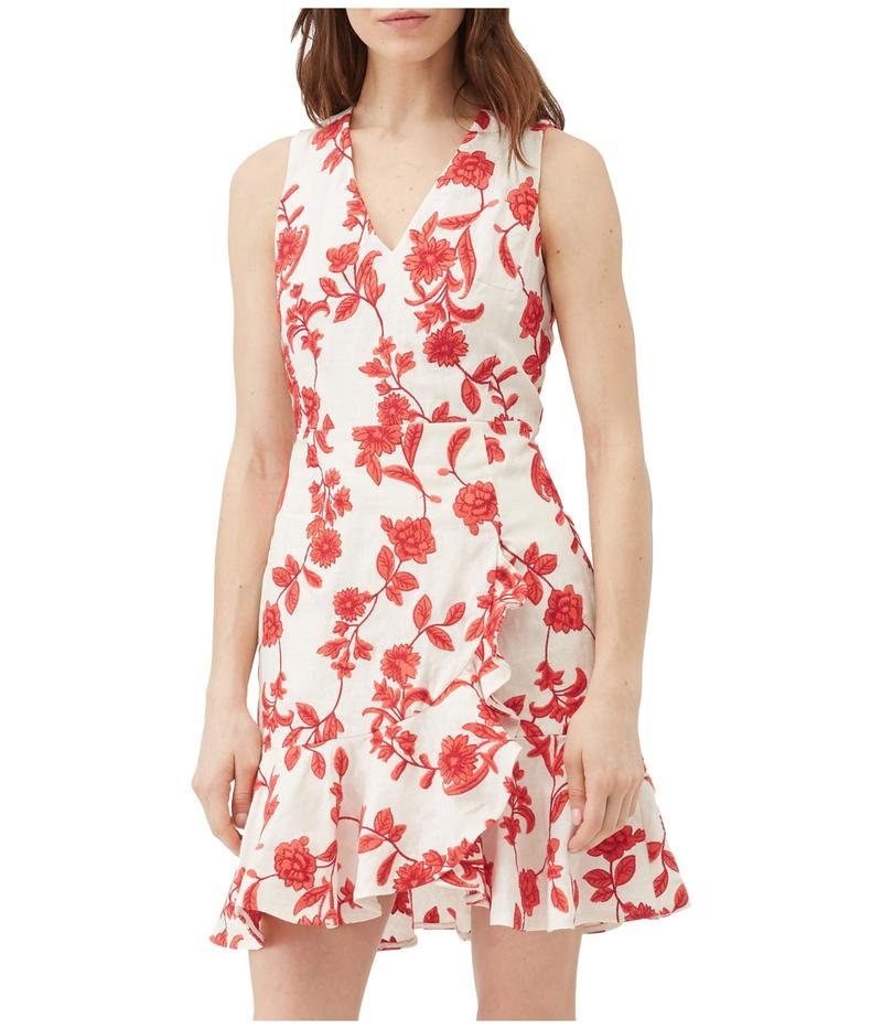完成品 レベッカテイラー レディース ワンピース トップス Wrap Sleeveless Scarlet Wrap ワンピース Dress トップス Ivory/Red Coral, サイズが豊富なスーツドレス TSC:31f6d254 --- experiencesar.com.ar