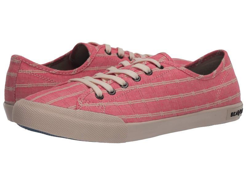 シービーズ レディース スニーカー シューズ Monterey Sneaker Chambray Pink